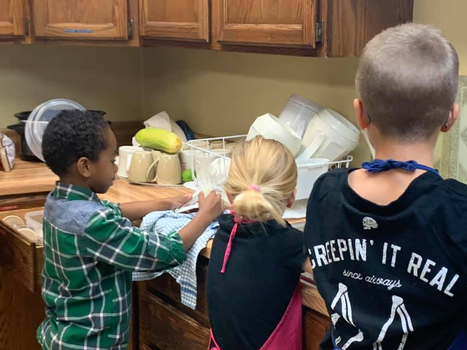 1st Communion Bread making Fall 2019